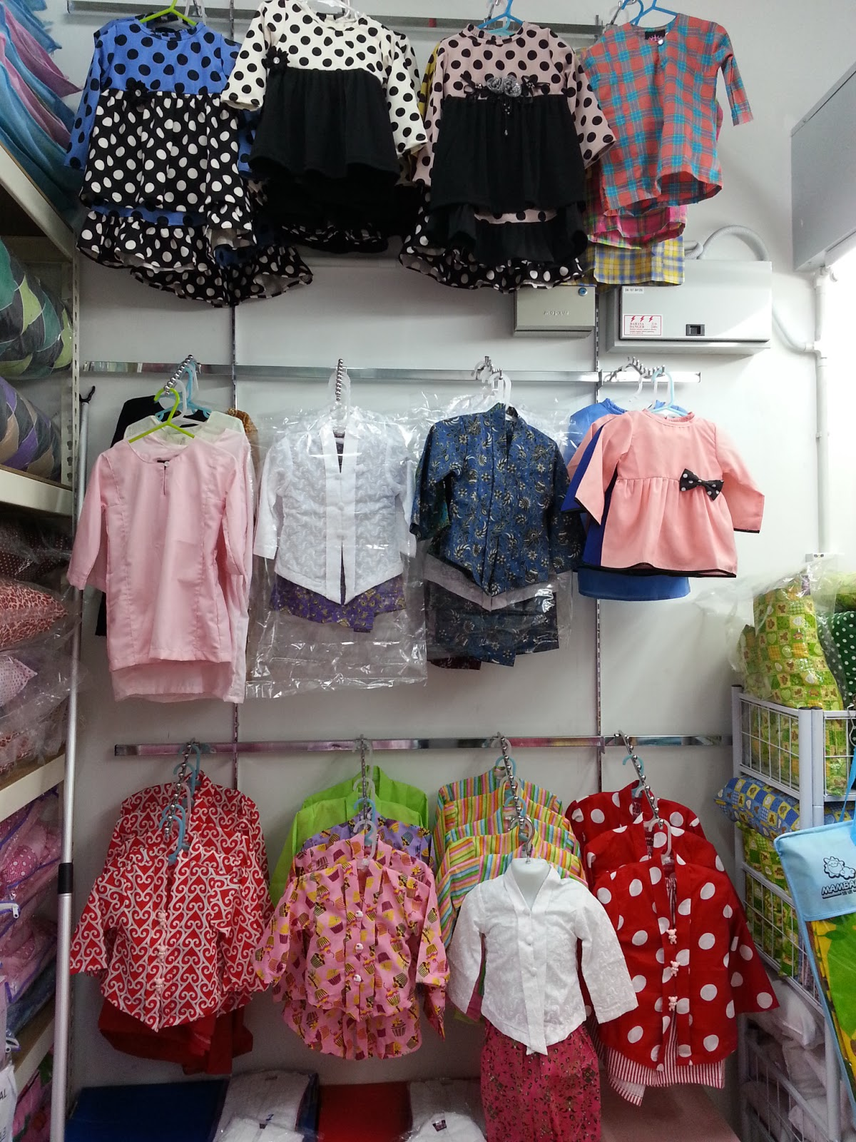 Gosh Moms And Kids Store Gosh Latest Design Baju Kurung Budak Comel2 Kebaya Bayi Dan Peplum Kanak2 Restock Raya 2013