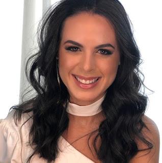 Tainara representa Cruz das Almas no concurso Miss Bahia 2019