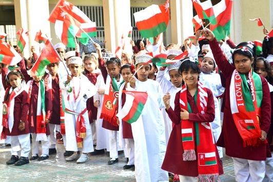 اجازة العيد الوطني سلطنة عمان 2018