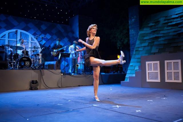 La Fiesta de Arte de Los Llanos de Aridane rompe esquemas con un espectáculo dedicado al cine musical