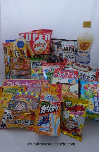 tokyotreat caja chuches japon