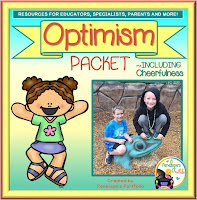 Optimism Character Education - Social Skills Teaching Packet