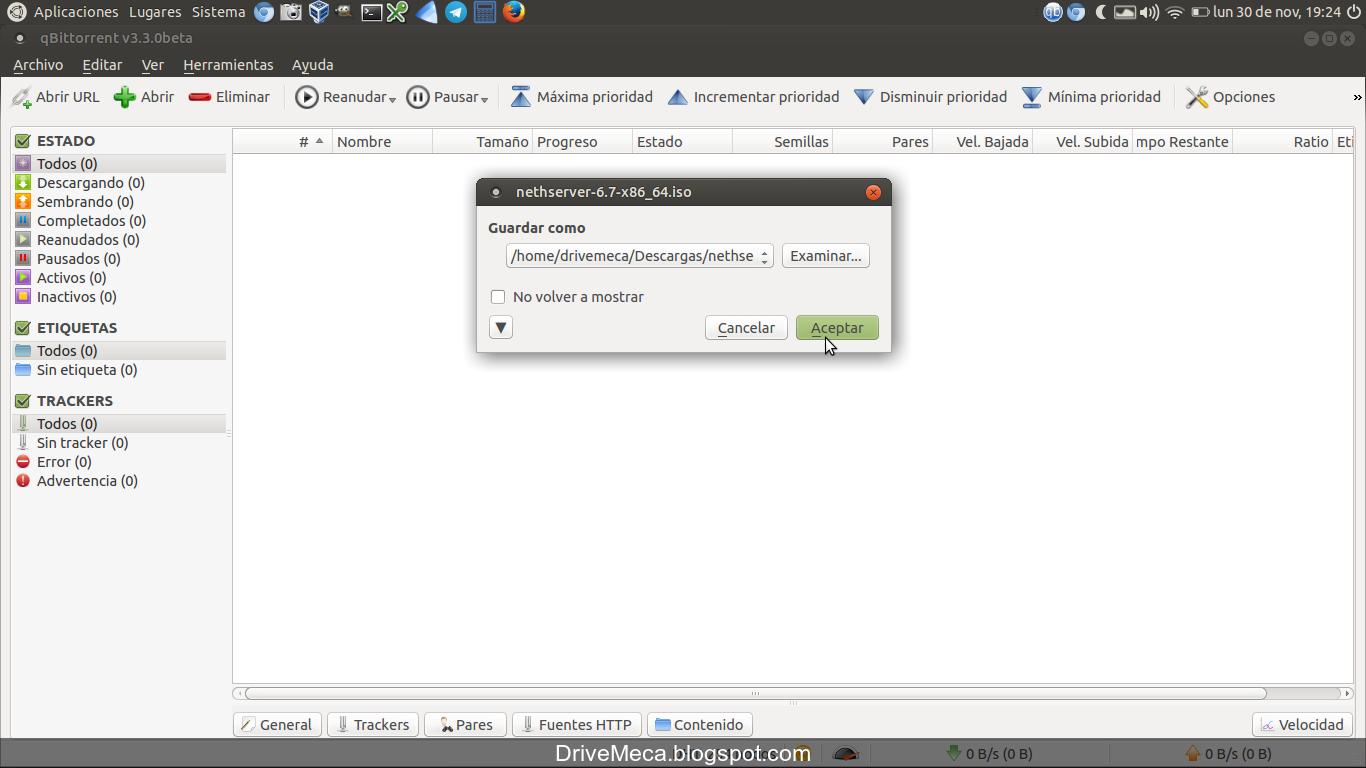 Como instalar qbittorrent en ubuntu ~ videoJuegos y Open Source