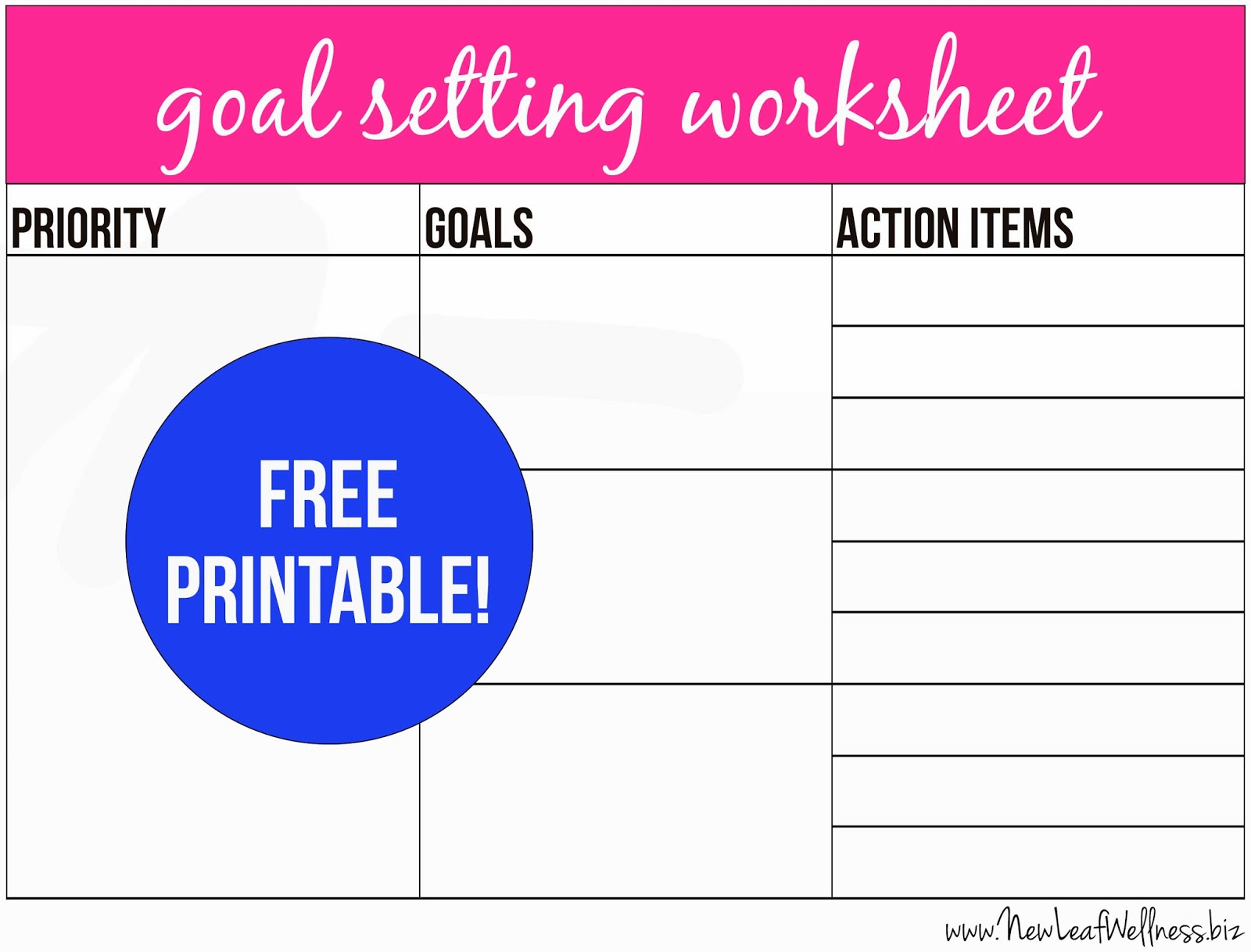 Free Worksheet Free Goal Setting Worksheet free goal setting template screenshot of a personal finance using home make it happen 10 printables to help you meet your