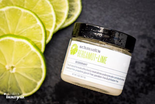 Schmidt's Deodorant Bergamot + Lime Deocreme