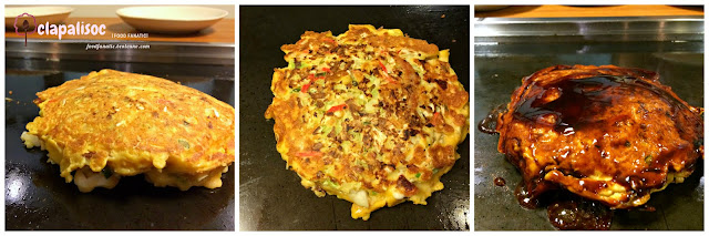 Dohtonbori Greenhills, How to cook okonomiyaki