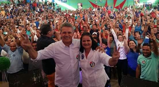 Rildo Reis e Bernadete do Sesp vão juntos disputar a prefeitura de Amaraji