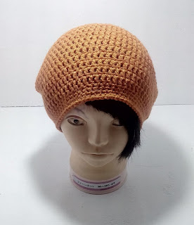 Slouch hat, crochet beanie
