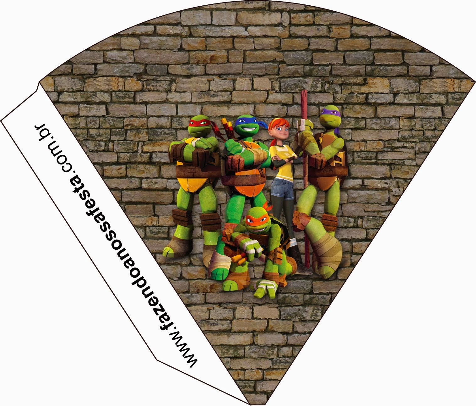 It is a graphic of Transformative Ninja Turtle Party Printables