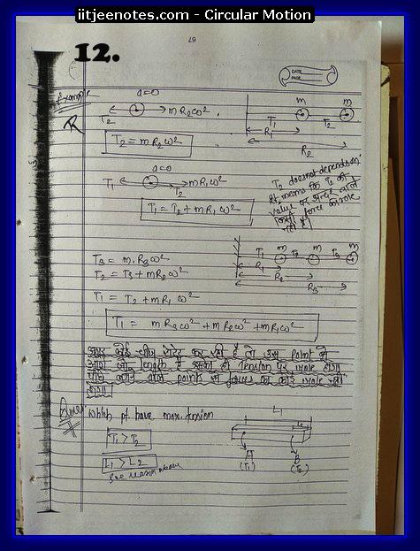 Circular Motion Notes2