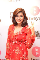 Mannara Chopra in deep neck Short red sleeveless dress Cute Beauty ~  Exclusive Celebrities Galleries 071.JPG