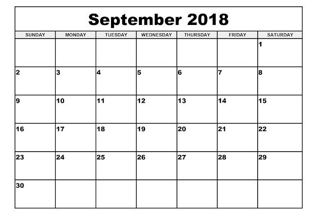 September 2018 Calendar, September 2018 Calendar Printable, September 2018 Calendar Template, September 2018 Calendar Holidays, September 2018 Calendar PDF, July 2018 Printable Calendar, Blank September Calendar 2018, September 2018 Printable Calendar, September Monthly Calendar, September Calendar Template