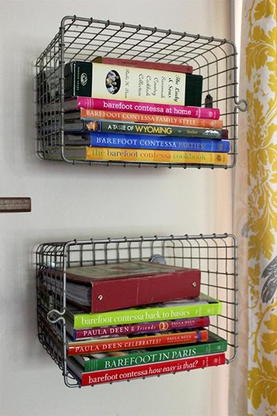 organização de livros