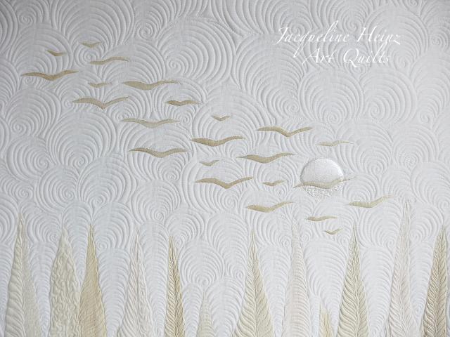 Ein textiler Quilt von Jacqueline Heinz aus Wolfenbüttel Art Textil