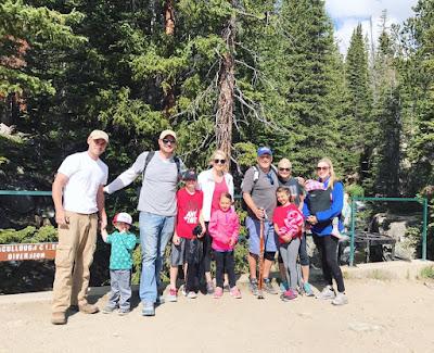 Hike on McCullough Gulch Trail in Breckendridge, CO