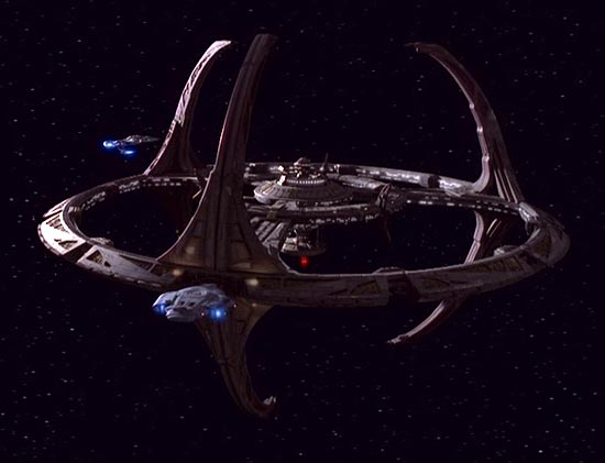 Deep Space Nine space station photos