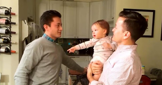of adorable baby gets confused by his dad's twin brother | lancerlord