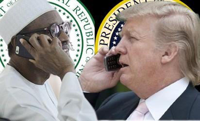 Trump Speaks to Buhari, Promises New Military Deal Against Boko Haram