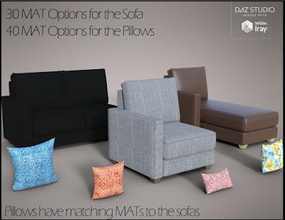Modular Sofa Props