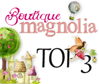 "Top 3 Boutique Magnolia #28 "" Magnolia Stamp with Pet"""