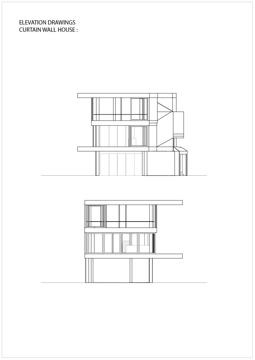 Curtain Wall House Shigeru Ban Plan Decorate Our Home With