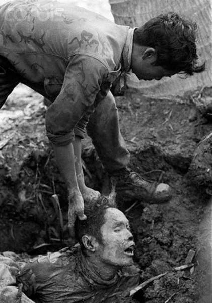 South Vietnam army soldiers after war