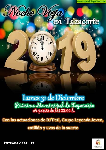 Noche Vieja en Tazacorte 2018
