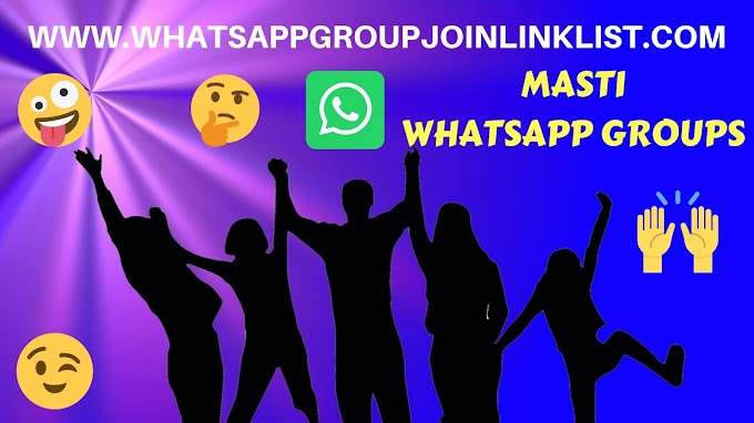 Masti WhatsApp Group Join Link List