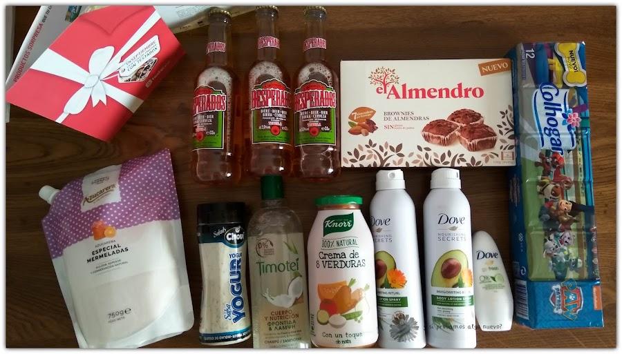 Unboxing Testabox Septiembre especial Unilever