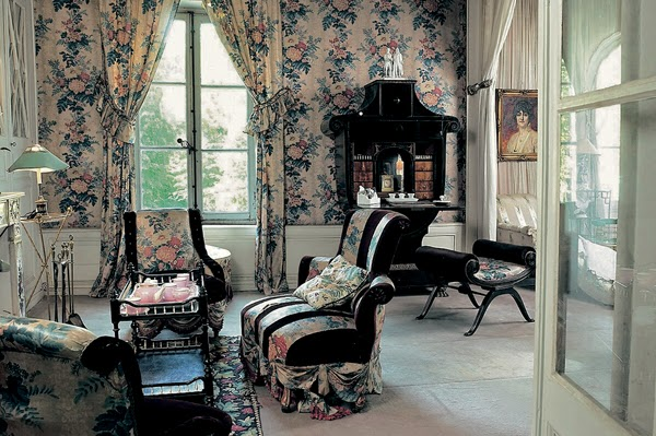Interiors Madeleine Castaing french designer