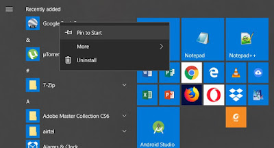 This is a short post to discuss how to group or un How to group or un-group icons on Windows 10 Start ?
