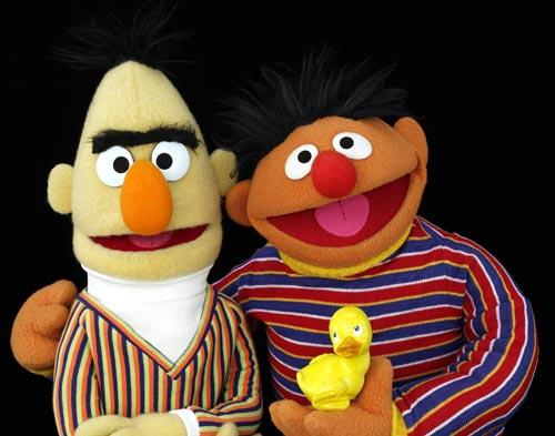 Bloggin Off Steam Bert Ernie
