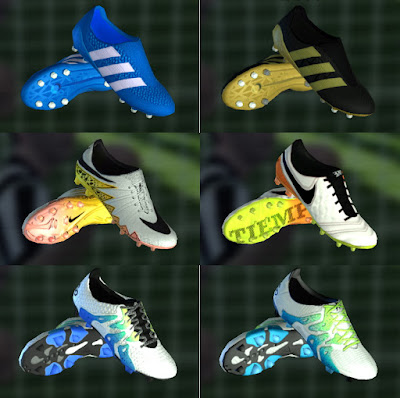 PES 2013 Mini Boots Pack March 2016 by BKRISNAW15