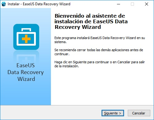 EaseUS Data Recovery Wizard Free imagenes