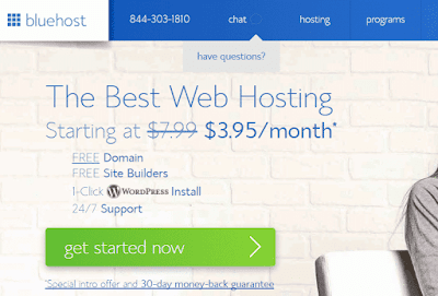 Buy Bluehost hosting and activate hosting on WordPress