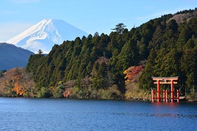 Du lịch hồ Ashi Nhật Bản