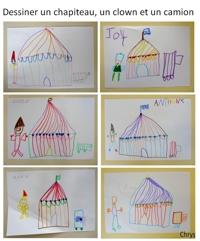 Le journal de chrys mon projet cirque en maternelle 2 - Dessin d un chapiteau de cirque ...