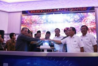 Command Center dan Layanan Kedaruratan 112, Penerapan Kota Cirebon Sebagi Smart City