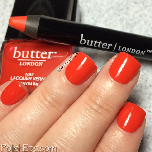 Butter London - Bloody Brilliant Lip Crayon and Polish - McPolish - Ladybird