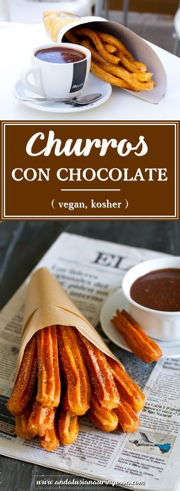 churros con chocolate_easy quick recipe_churros with chocolate_vegan_kosher_Under the Andalusian Sun_foodblog_PINTEREST
