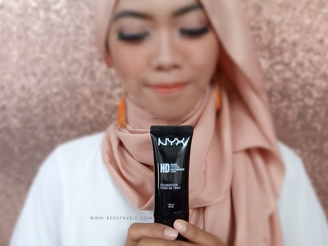 Review NYX HD Studio Photogenic Foundation