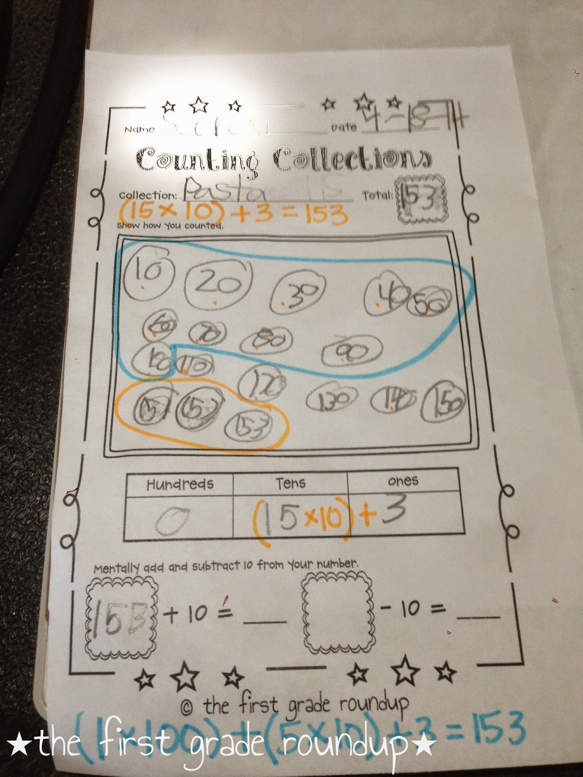 Math Junkie Counting Collections