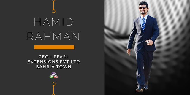 Interview With Hamid Rahman ( CEO Pearls Extensions Pvt Ltd Bahria Town )