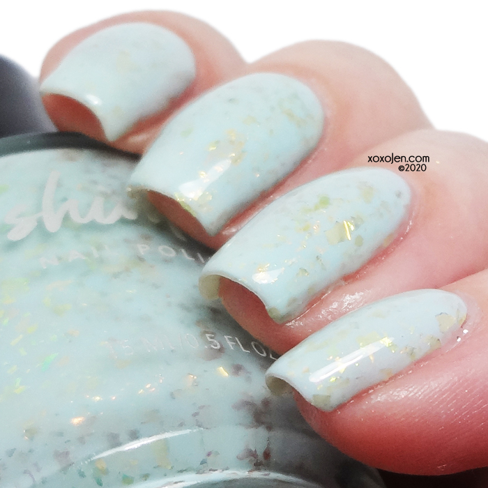 xoxoJen's swatch of KBShimmer Water Relief