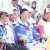 Kapolda Sulsel Ikut Serta Sukseskan Pawai Obor Nasional Asian Para Games Di Kota Makassar