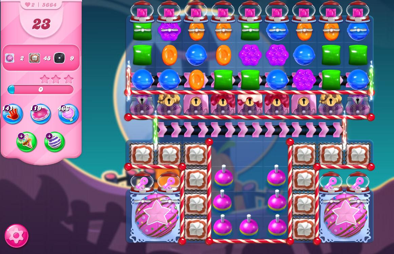 Candy Crush Saga level 5664