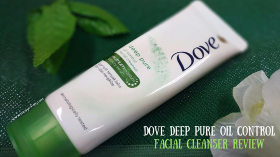 Skincare review: Dove Deep Pure Oil Control Facial Cleanser