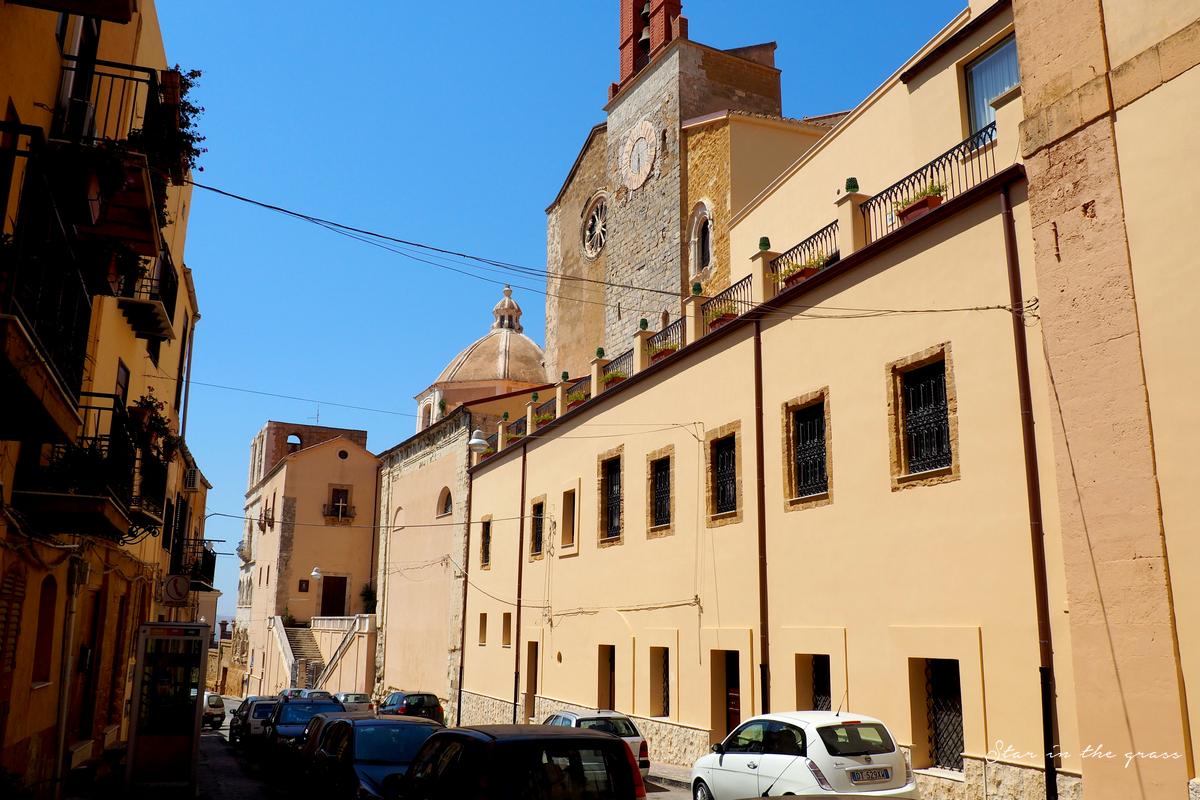 Ville d'Agrigento, Sicilia, Italia