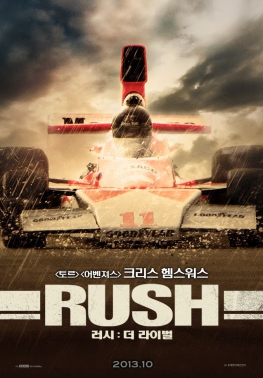 Rush Formula 1 Niki Lauda Movie Poster 24inx36in Poster