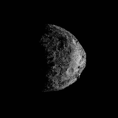 Photographs of Bennu asteroid taken from record close distance